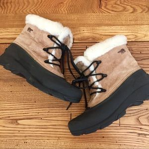 Sorrel boots snow angel lace size 8
